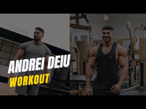WORKOUT ROUTINE: SHOULDER'S WITH ANDREI DEIU
