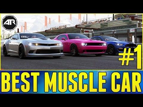 Forza Online Top Gear Challenge Best Muscle Car Youtube