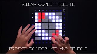 Selena Gomez - Feel Me//Launchpad Pro MK3 Cover