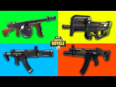 What Is The Best SMG in Fortnite?