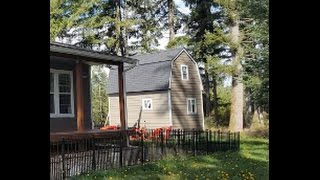 Owner Built Two Story Tiny House $5000