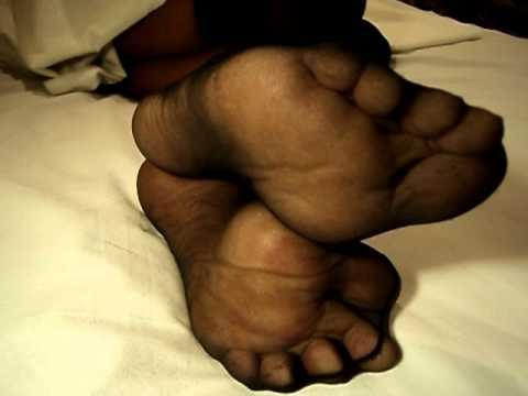 tease Sexy nylon feet