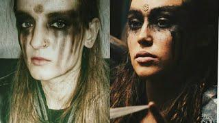 "Макияж ""Лекса"".Сериал ""Сотня"". Makeup Lexa. The 100, 6 season. Кларк (Ванхеда) и Лекса (Хеда).Трикру"