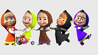NEW COLORS Masha And The Bear! LEARN COLORS! Video For Kids