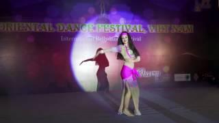 Oriental Dance Festival in Vietnam 2017- Gala Show-Helena Russo B1
