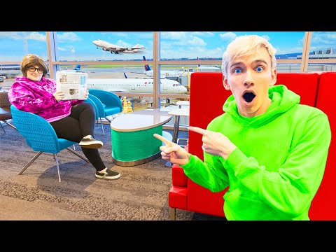 MYSTERY NEIGHBOR SPOTTED FOLLOWING STEPHEN SHARER at AIRPORT!! (LA HOUSE DESTROYED)