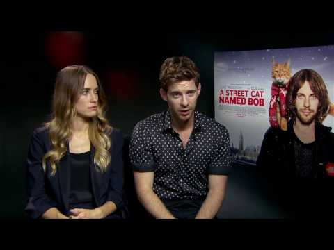 Exclusive interview: Luke Treadaway & Ruta Gedmintas talk A Street Cat Named Bob