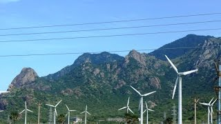 largest wind farm construction in South Asia  Kaniyakumari