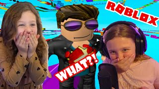 Dad plays Roblox Super Easy Obby *NOT EASY*   Fun Family Gaming