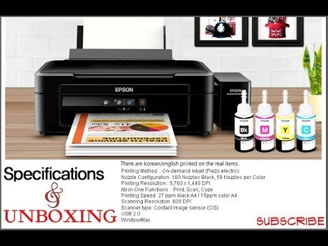 Epson L220 Unboxing (Specifications & Features)