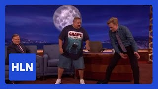 No joke! Comic tells Conan his weight loss secret