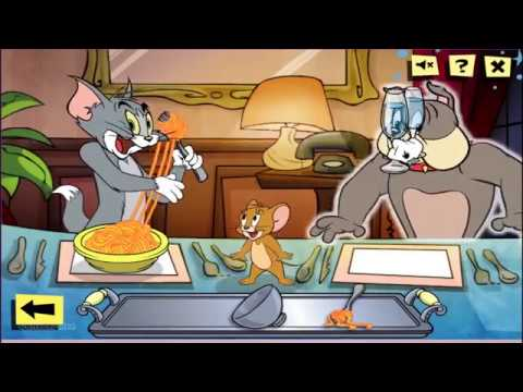 TOM AND JERRY ALL GAMES Collection 1 Hour►Movie GamePlay For Kid HD