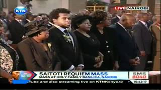 George Saitoti Full requiem Mass