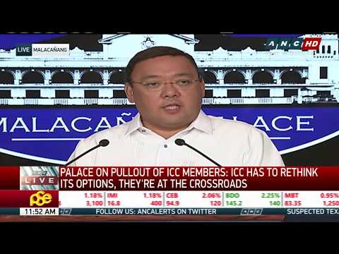WATCH: Presidential spokesperson Harry Roque in a press briefing | 22 March 2018