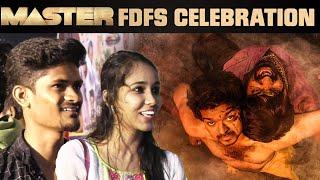 Master Movie FDFS Fans Celebration in Rakki Theatre | Thalapathy VIjay
