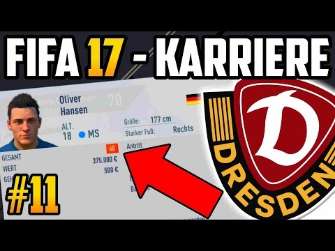 DAS NEUE MEGA TALENT??  - FIFA 17  Dresden Karriere: Lets Play #11