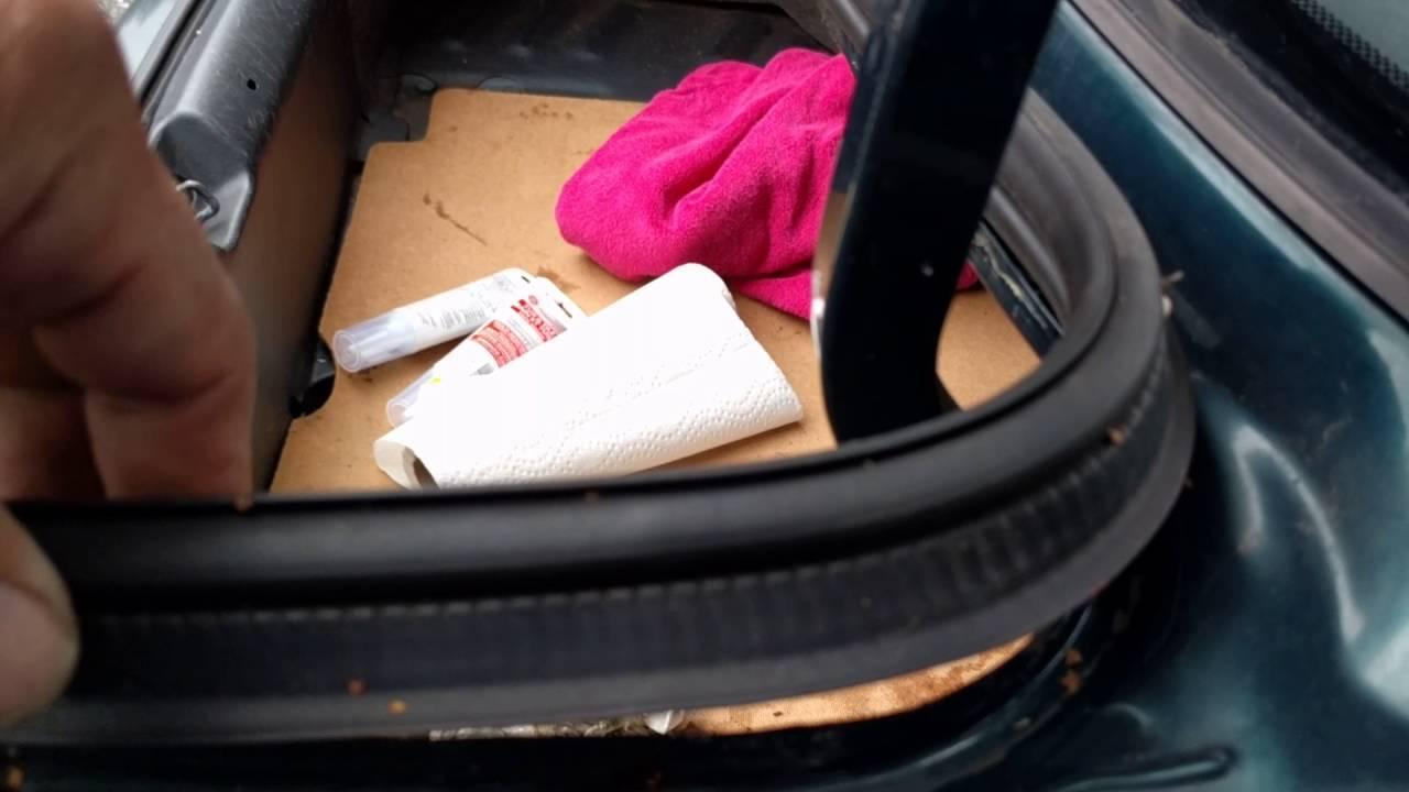 How to fix a leaky trunk on Honda Civic - YouTube