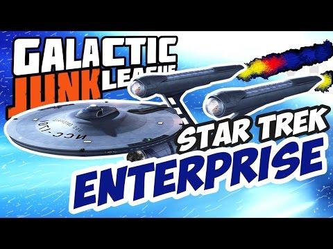 КОРАБЛЬ ЭНТЕРПРАЙЗ ИЗ СТАРТРЕКА ► Galactic Junk League