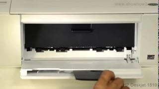 05. HP Deskjet 1510 All-in-One Printer - Installing Ink Cartridges