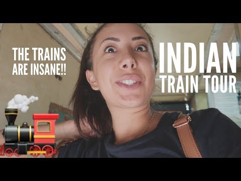 FIRST INDIAN TRAIN TRAVEL! What to expect? (AC 3rd class)
