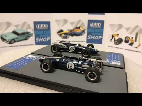 TRAX Gallery Eagle Formula 1 Models 1/43 Scale From SMTS