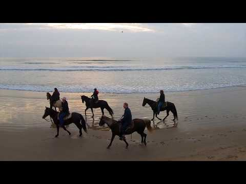 Mindy Smith Rockies | Horseback riding on the Beach | GoPro Hero 7 Black