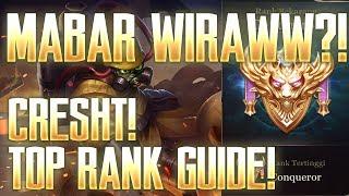 Mobile Arena - Mabar Evos Wiraww! Cresht Top Rank Gameplay & Build!