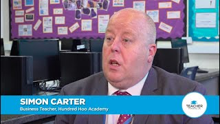 Interview with Simon Carter (TTUK student), Emma Elwin (Headteacher) at the Hundred Hoo Academy