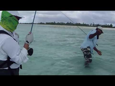 Christmas Island Bonefish and Bluefins