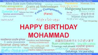 Mohammad   Languages Idiomas - Happy Birthday