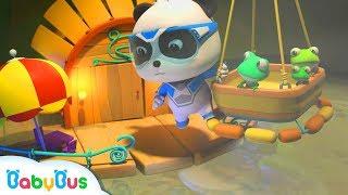 *NEW*청개구리가족 우물 탈출 도와주기!| 키키묘묘 구조대 긴급출동! |구조대동화 제6화|3D애니메이션|베이비버스 인기동화 모음|BabyBus