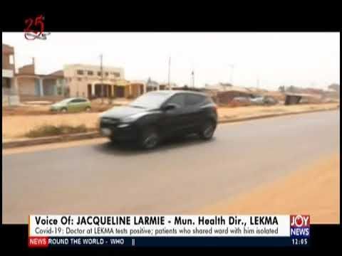 Covid-19: Doctor of LEKMA tests positive - Joy News Today (31-3-20)