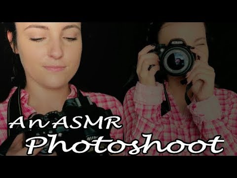 ASMR // Taking Your Picture! Photoshoot Roleplay