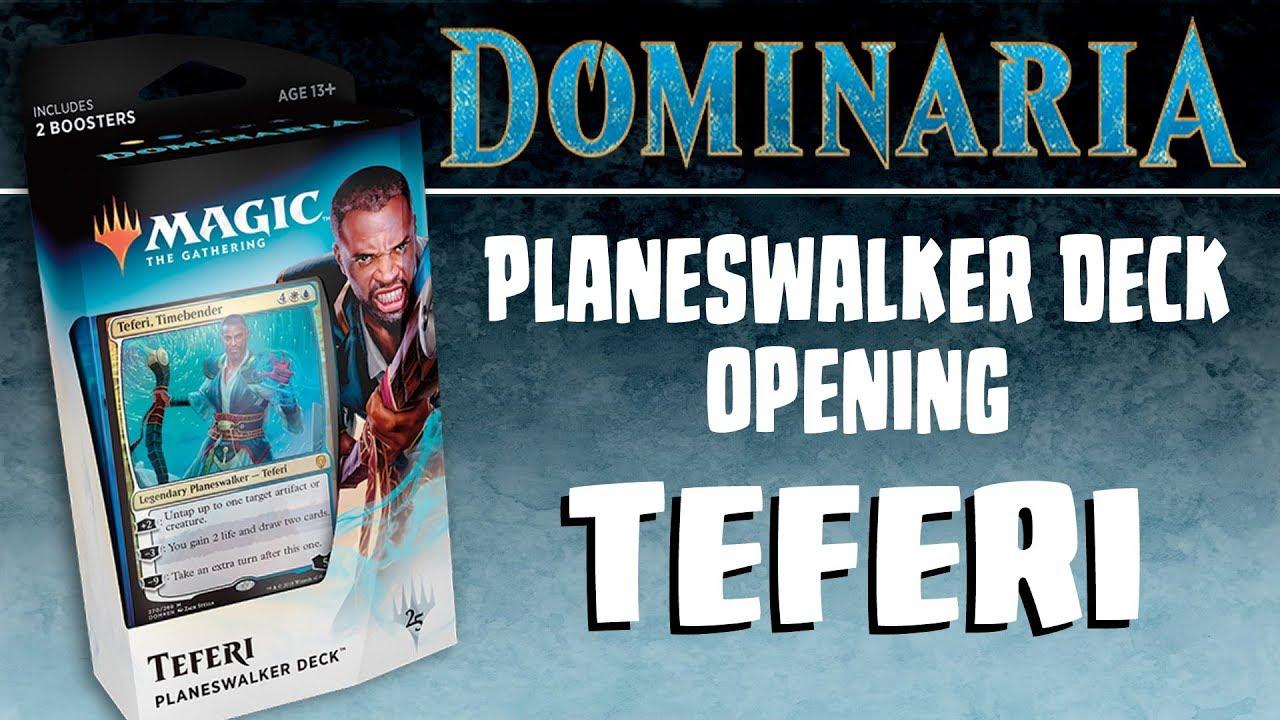 Dominaria-Planeswalker Deck anglais-MTG Magic the Gathering TCG