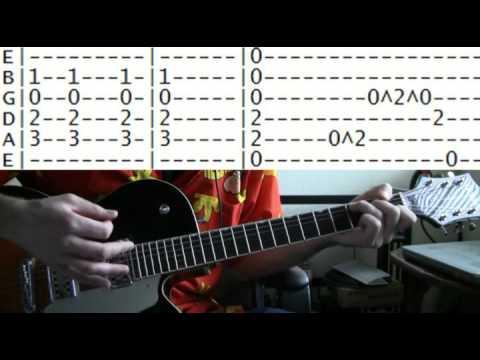 Guitar Lesson Pearl Jam Black Tab Youtube