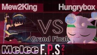 MVG FOX|Mew2King (Fox & Marth) vs. Liquid|Hungrybox (Jigglypuff) - Melee Grand Finals - FPS2