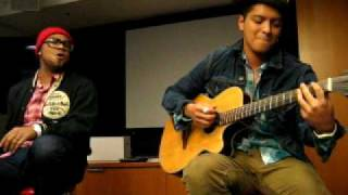 Bruno Mars - Somewhere in Brooklyn (2010 Private Acoustic Live at OMD L.A.)