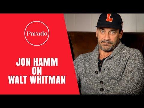 Jon Hamm on Walt Whitman