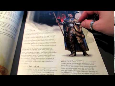 [ASMR - Whisper, Page Turning, Gum Chewing] D&D 5E Player's Handbook - Intro, Part 1