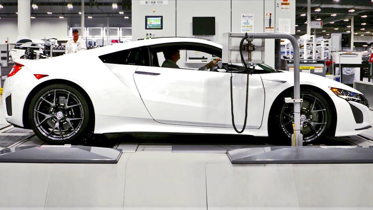 2017 Acura NSX Production