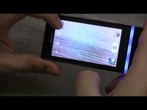 SONY XPERIA U Hands On Review