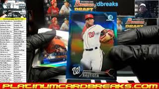 2016 Bowman Draft Jumbo Baseball 8 Box Case PYT #139