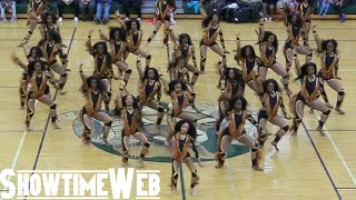 DD4L Dancing Dolls of Atlanta, Georgia performs at the AMHS Arabia ...