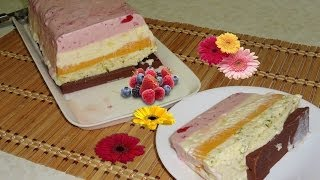 Easy Cassata Ice Cream Recipe By Bhavna - Spumoni Ice Cream Recipe Video