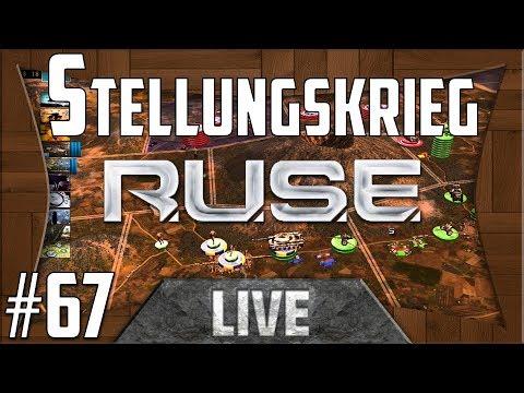 R.U.S.E Live // Stellungskrieg (3vs3) #67 // (German/Deutsch)