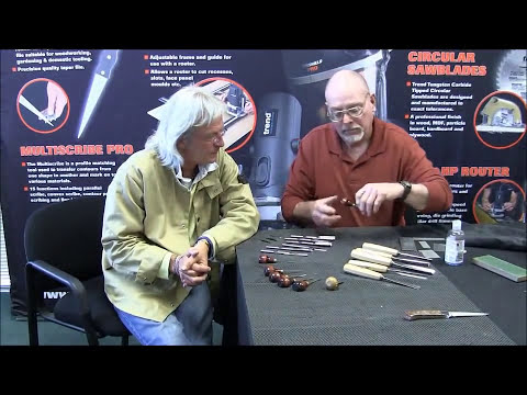 James Barry Sharpening Carving tools part 2