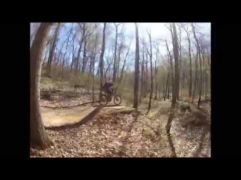 FORT DUFFIELD KY Downhill Mountain Biking HD GoPro