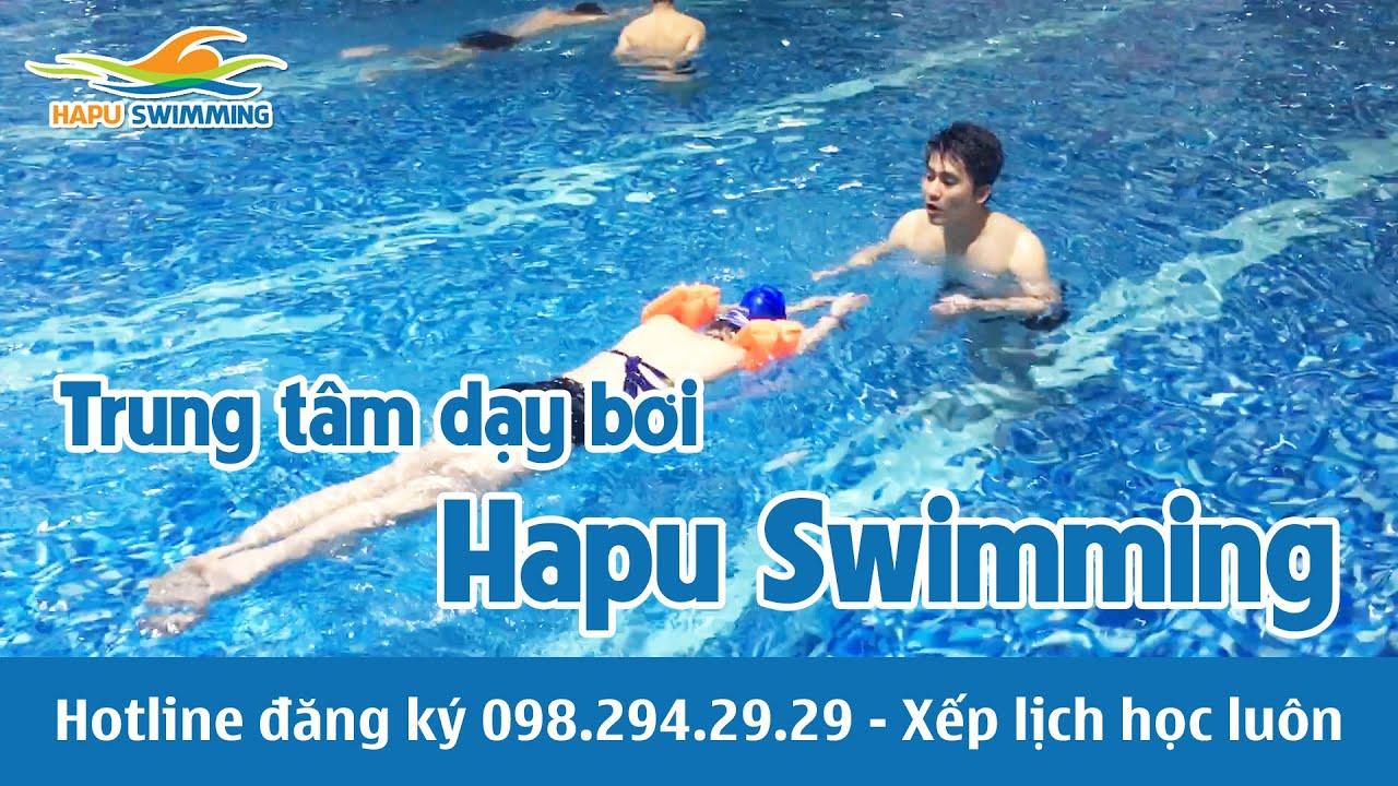 Dạy bơi bể Hapu Swimming – Lớp dạy học bơi cho trẻ em, người lớn tại Hà Nội tại Hapulico