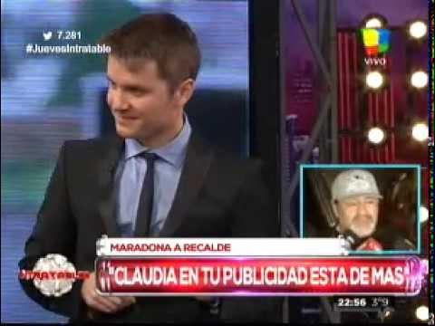 Maradona bancó a Del Moro por el Martín Fierro que no fue