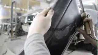 AUDI A8 Ремонт бампера и восстановление ЛКП(Пайка одностороннего шва на пластике, как бороться с облезшим лакокрасочным покрытием., 2014-03-01T22:24:32.000Z)